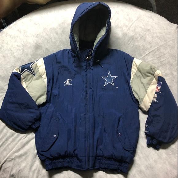 pretty nice 001d5 e6203 Logo Athletic Pro Line NFL Dallas Cowboys Jacket